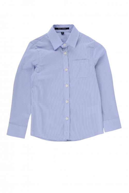 shirt Menedhall-sky blue classic shirt