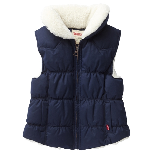 Padded Gilet Fleece Collar